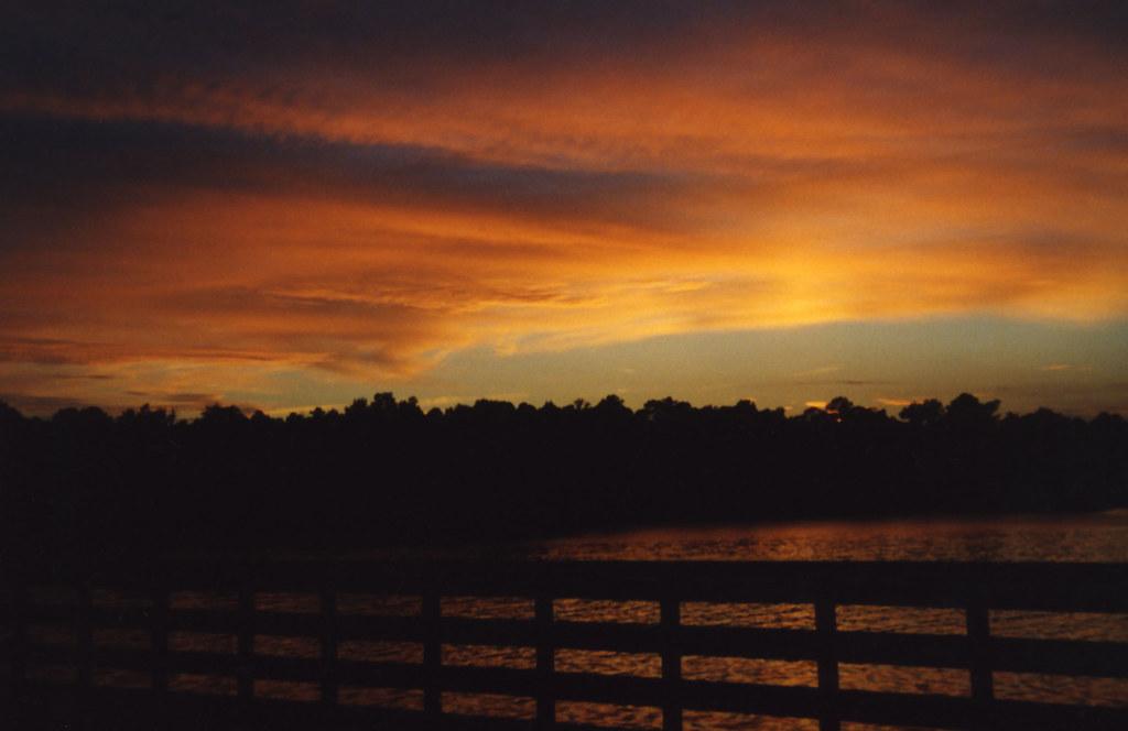 fiery glow burning sunset - photo #5