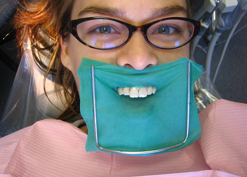 44/365: Does this dental dam make me look fat? | by Betsssssy