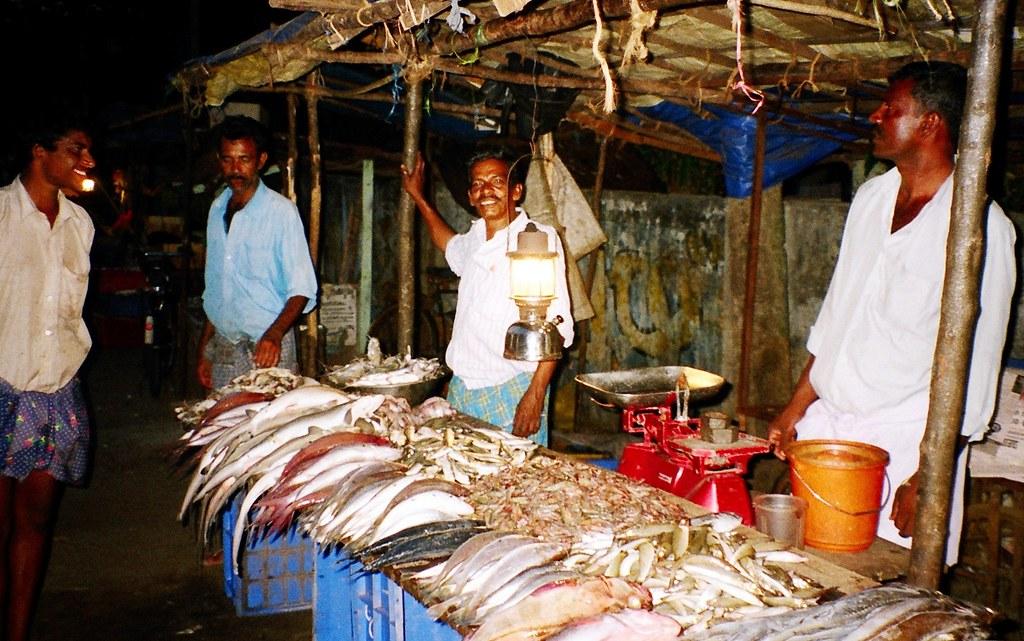 Night Fish Market Alleppey Fabindia Flickr