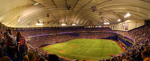 Hubert H. Humphrey Metrodome | by Homemade