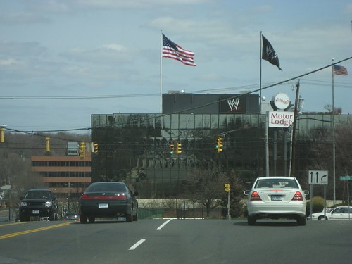 Wwe Headquarters From E Main St Right Off Exit 9 In