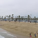 Panorama of Balboa's beach
