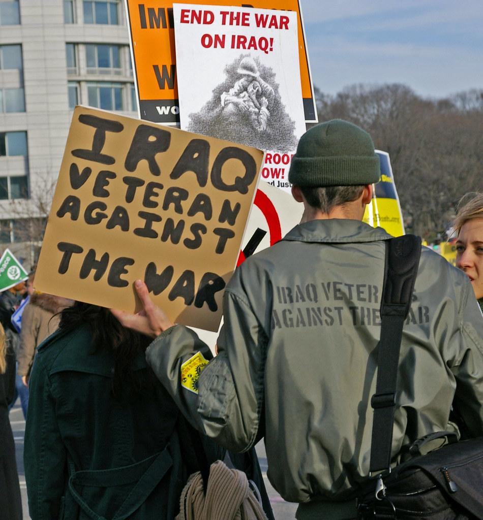 Iraq Veterans Against the War | Washington, DC USA January ...