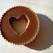 Peanut Butter Cup Heart