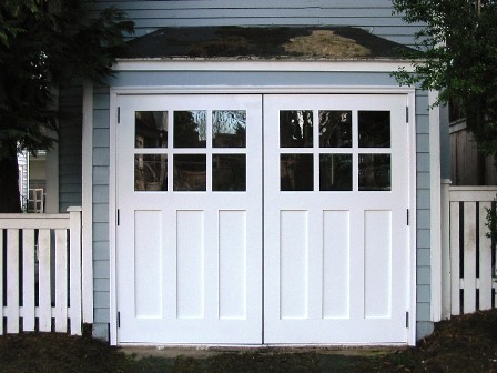 Attrayant ... Phinney Ridge Carriage House Door, REAL Out Swing   Seattle Carriage  House Door |