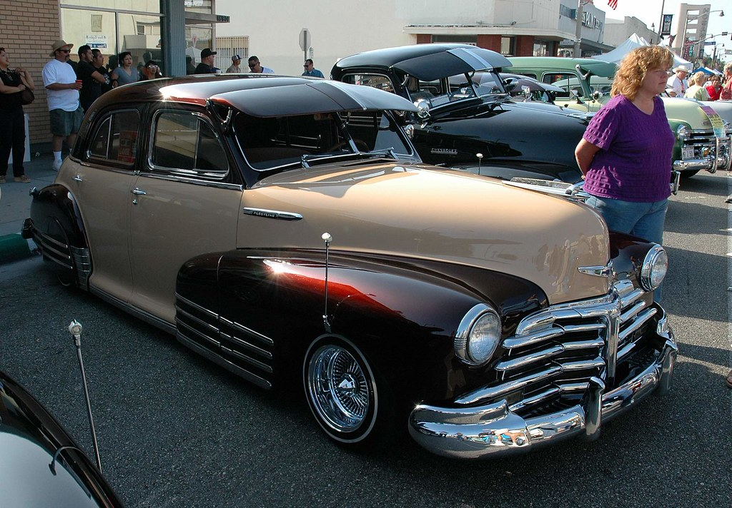1947 chevrolet fleetline the four door models were not