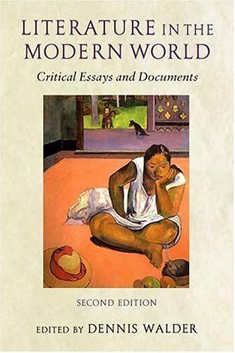 critical essays on world literature