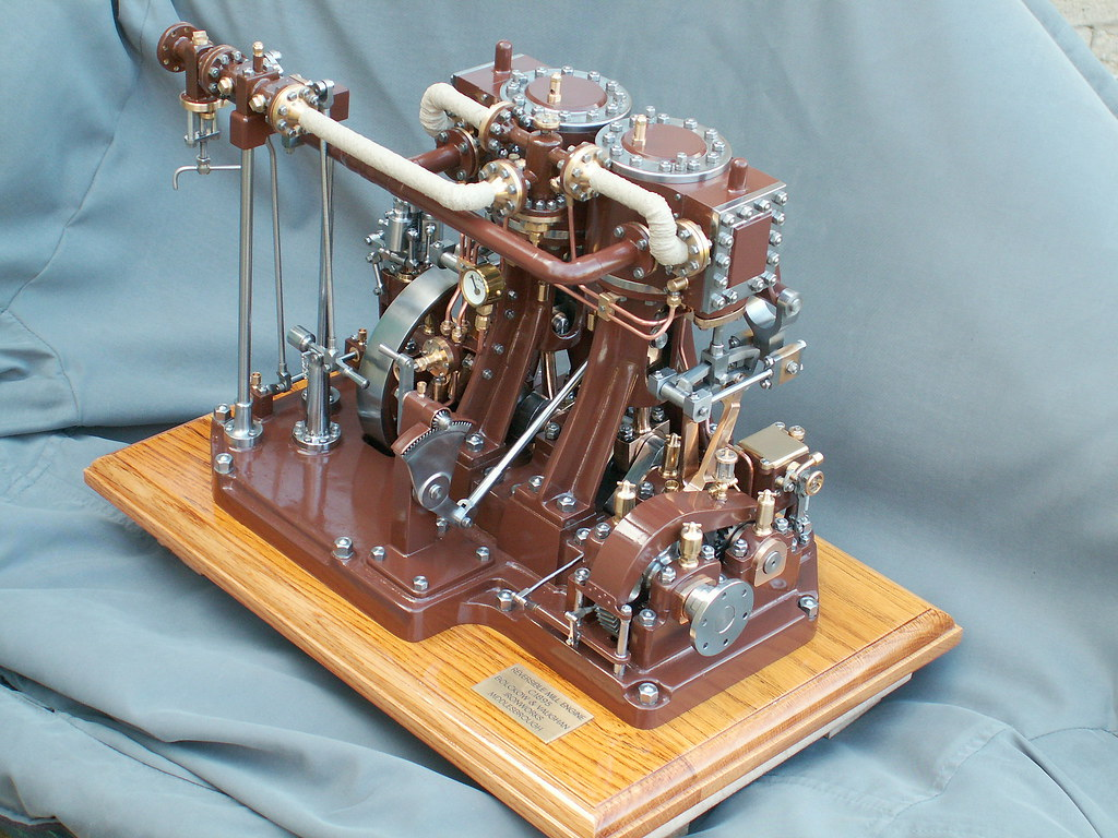 The Finished Product Working Model Victorian Steam Engine