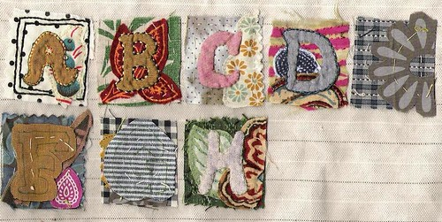 needlework letters | by jude hill