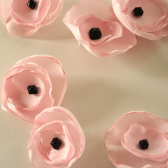 pink poppy pins | by thefoundling