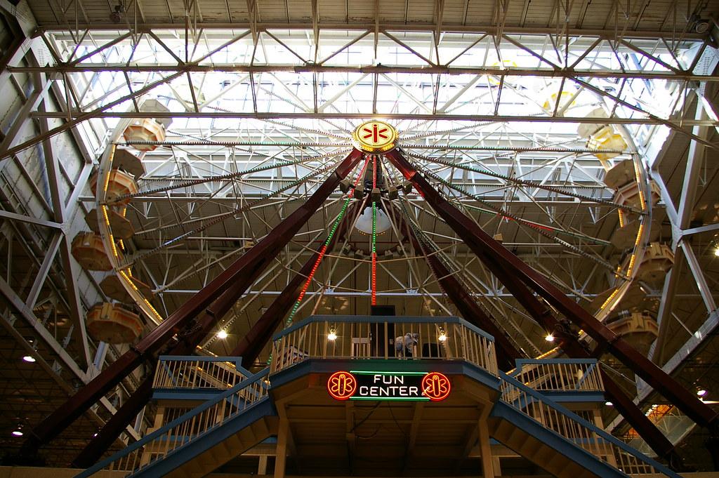 Home And Garden Show Biggest Indoor Ferris Wheel In The