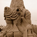 Sand Sculpture -King Neptune's Kingdom - (Backside)