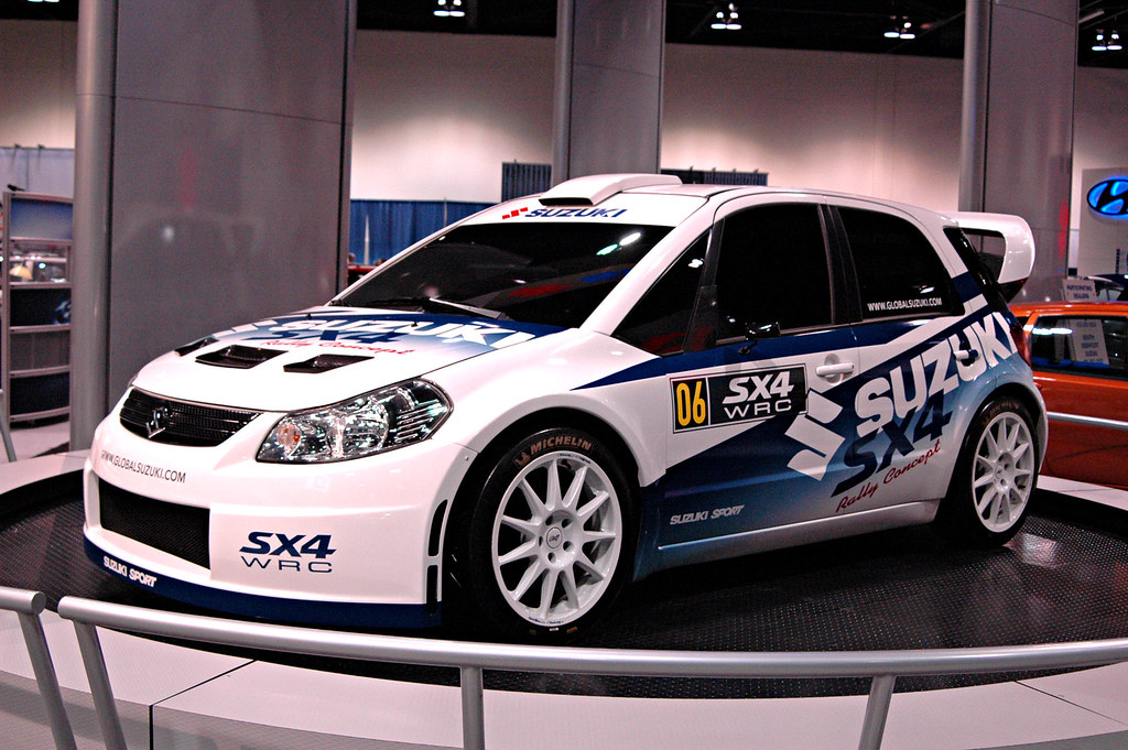 The Newest Suzuki Rally Car The New Suzuki SX4 WRC