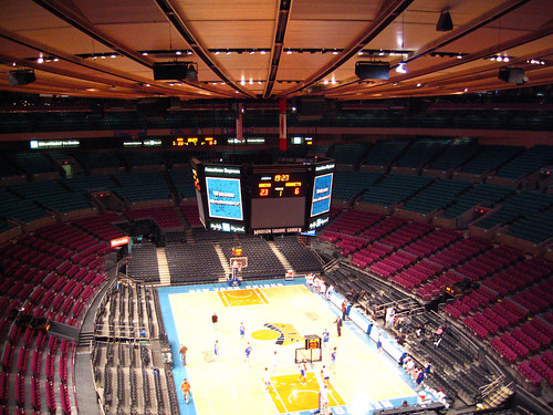 The main arena at Madison Square Garden | by vipeldo