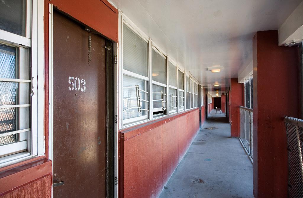 Corridor At Cabrini Green 6 1230 N Larrabee David