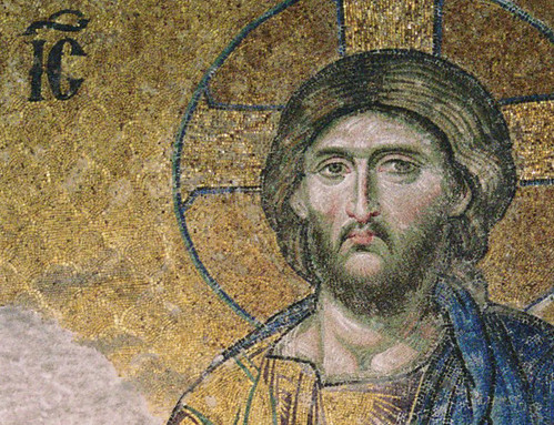 Byzantine mosaic in the Hagia Sophia | by birdfarm
