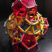 Four dodecahedra around a Rhombicosidodecahedron