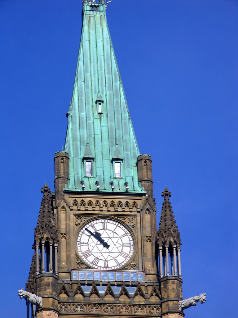 how to draw parliament hill in canada easy