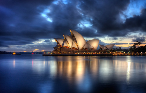 opera house at dawn hdr | by brentbat