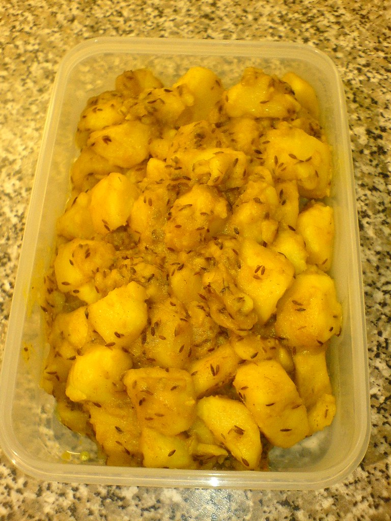 ... alloo | This is a potato curry cooked with cumin seed… | Flickr