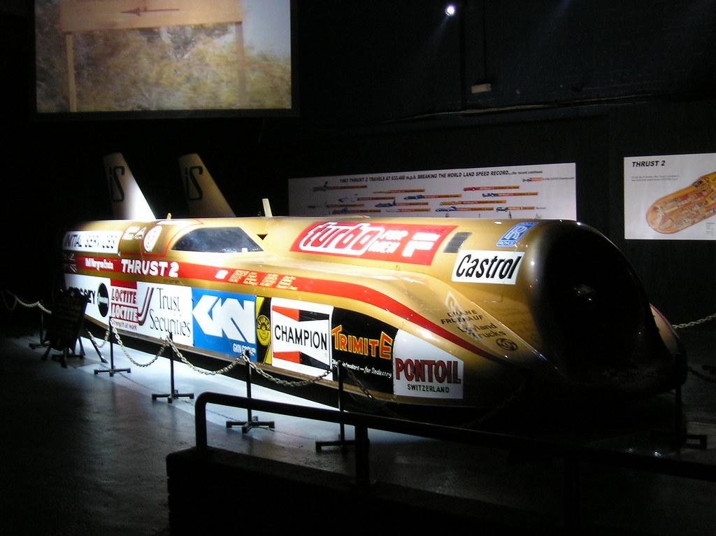 p1010030 la voiture la plus rapide au monde thrust 2 u flickr. Black Bedroom Furniture Sets. Home Design Ideas