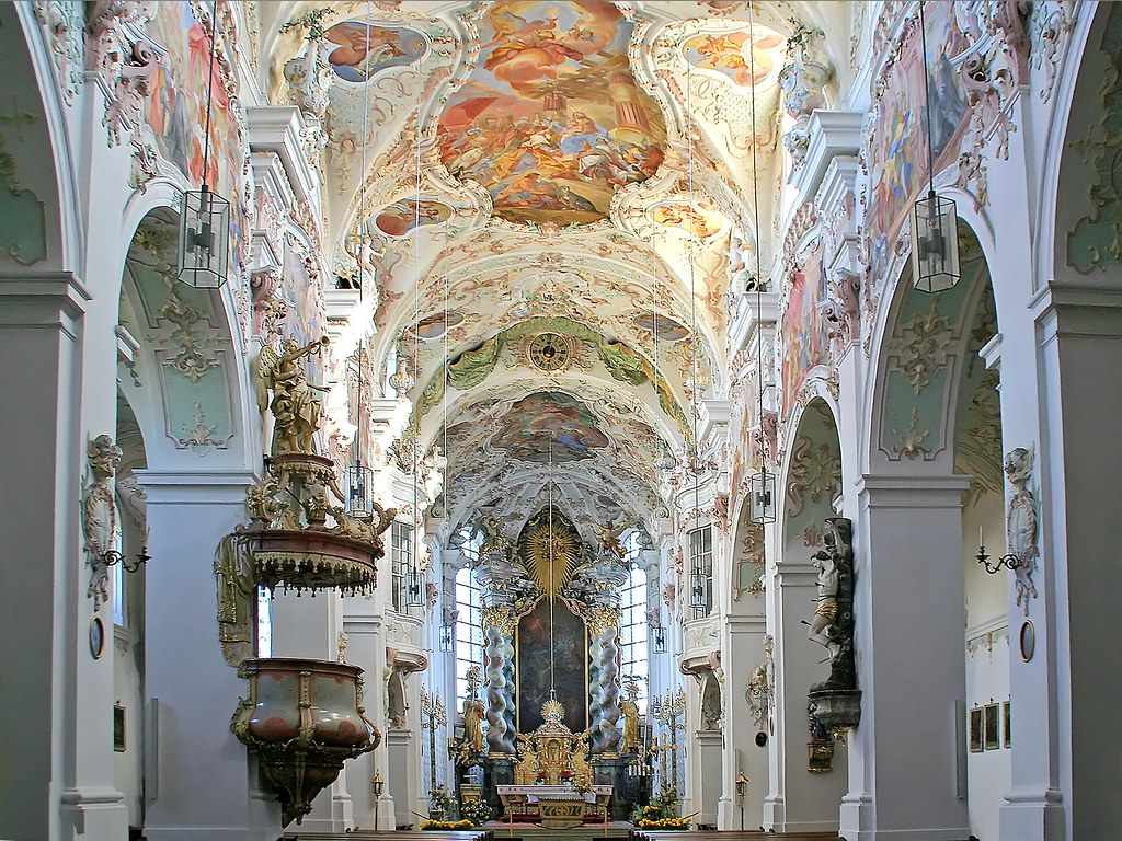 The former benedictine monastery reichenbach late baroqu flickr the former benedictine monastery reichenbach late baroque interior by rotraud71 dailygadgetfo Image collections