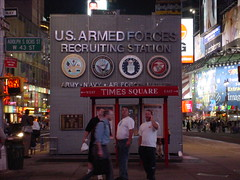 US Armed Forces Recruiting Station, Times Square | by stephenhanafin