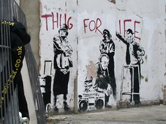 banksy thug for life | by funkypancake