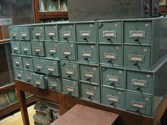 Gandhi Library card catalogue | by Helen K