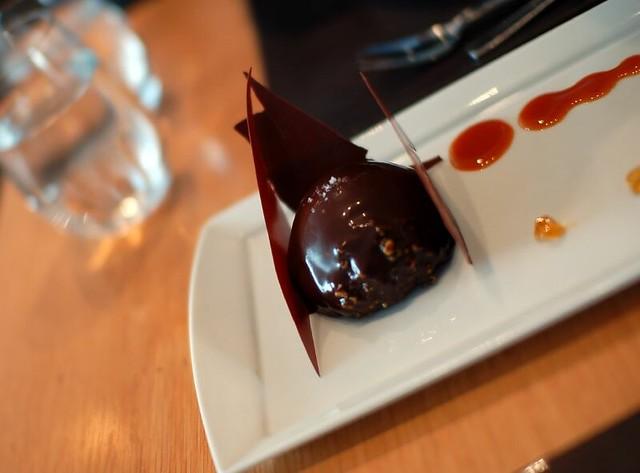 Ganache Glazed Chocolate Bundt Cake