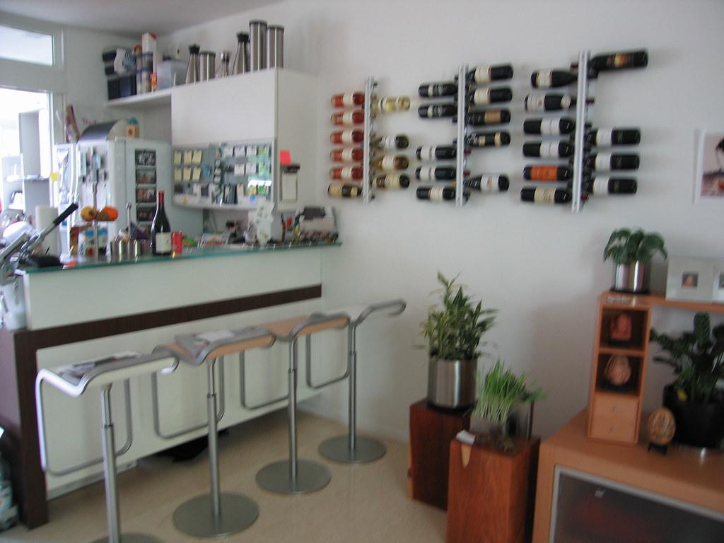 Kuchentheke Bar In Front Of The Kitchen Brigitte Flickr