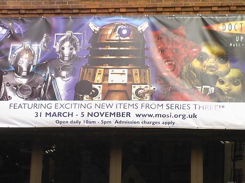 D Exhibition Manchester : Dr who exhibition manchester april emtrance