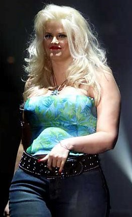 Speaking, would fat anna nicole smith topless that