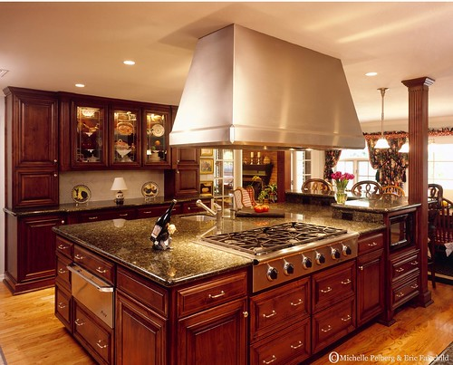 Custom Kitchen Wood Hoods