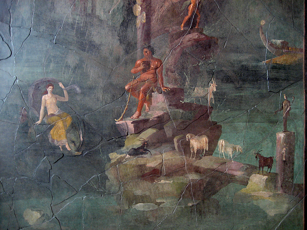 "Landscape with Polyphemus and Galatea: From the ""Mythologi ..."