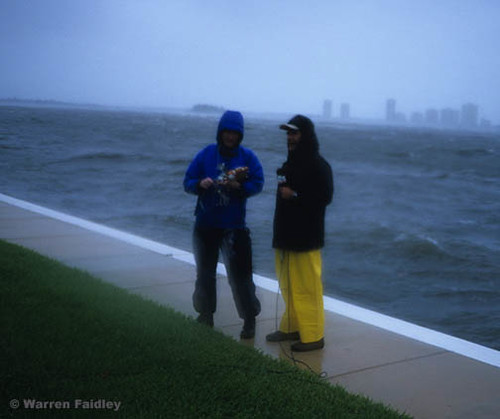 Hurricane Chaser Warren Faidley with Geraldo Rivera | by Extreme WX Photographer