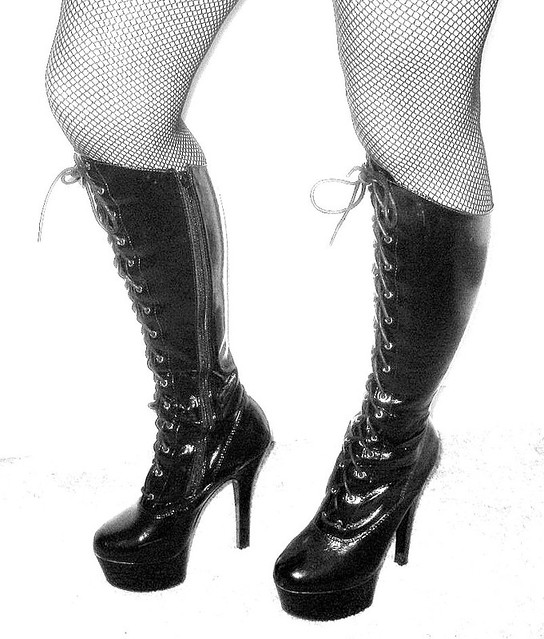 hooker boots. Plain Hooker 365 Mini Challenge Hooker Boots  By Boheme To