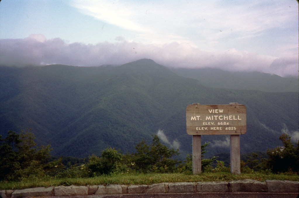 Rcp 1977 125 View Mt Mitchell Elevation 6684 Feet