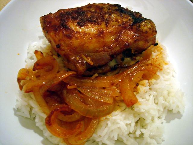 Smoked Paprika Roasted Chicken | Soooooo easy! A layer of sl ...