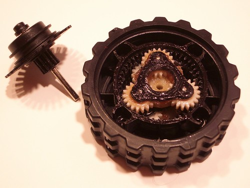 how to clean a roomba gearbox