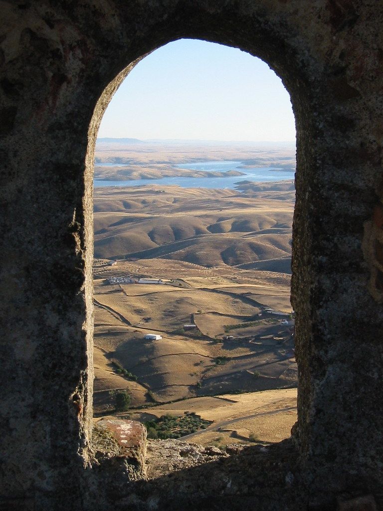 Castle Window | The view out a castle window in Extremadura,… | Flickr