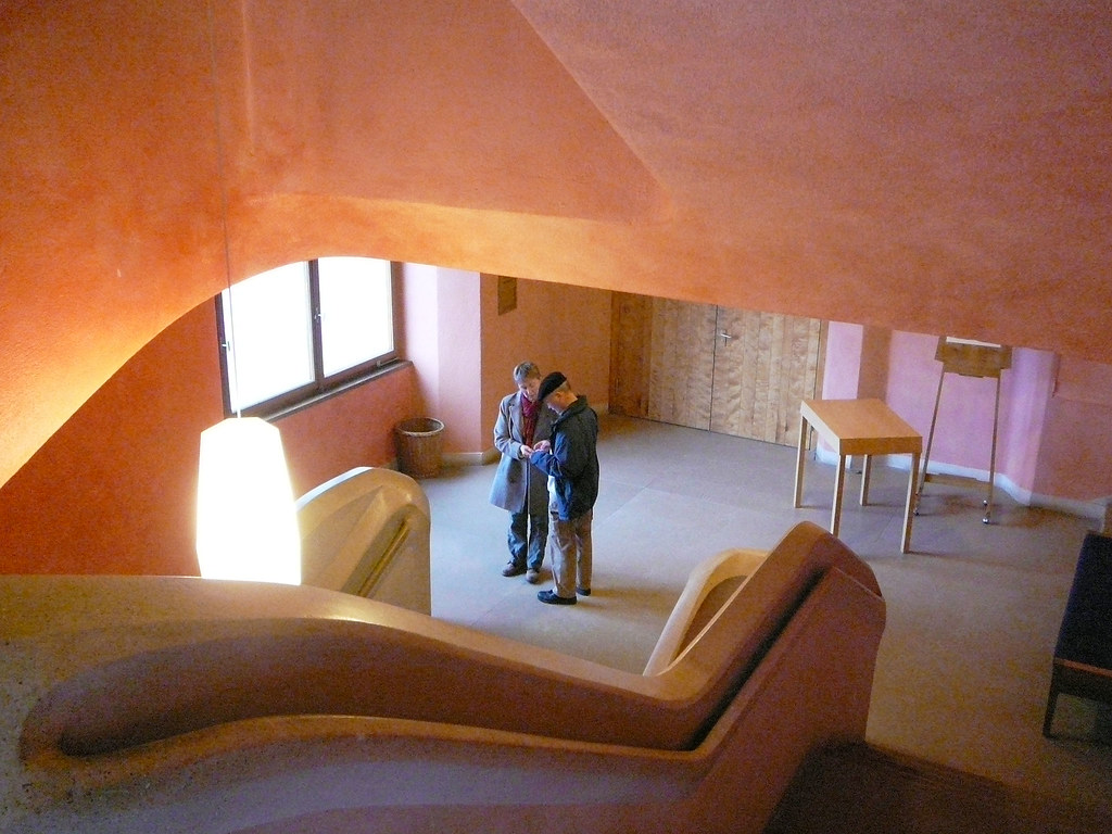 Staircase in the goetheanum p1020030 f from the sky - Anthroposophische mobel ...