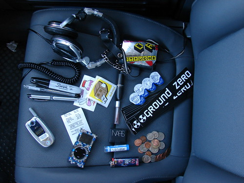 what's in my bag cause I'm bored in line at the carwash | by danielle_blue