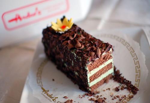 Chocolate Pistachio Cake With Irish Cream