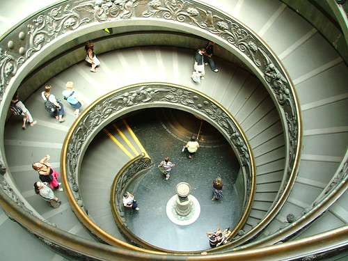 Staircase of the Vatican Museum | by _Robert C_
