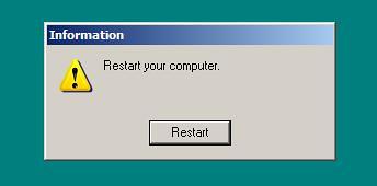 restart