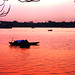 Sunset by the Hooghly River
