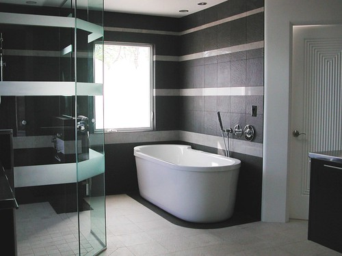 Contemporary Master Bath | by NancyHugoCKD.com