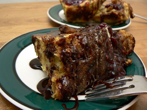 croissant bread pudding | by stu_spivack
