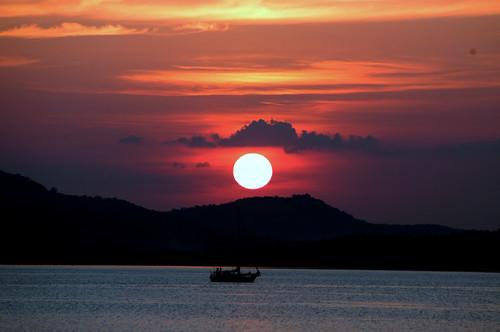 Sunset Langkawi Pemandangan Senja Di Pulau Langkawi Gambar Flickr